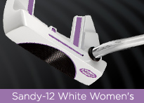 Sandy-12 White Womens